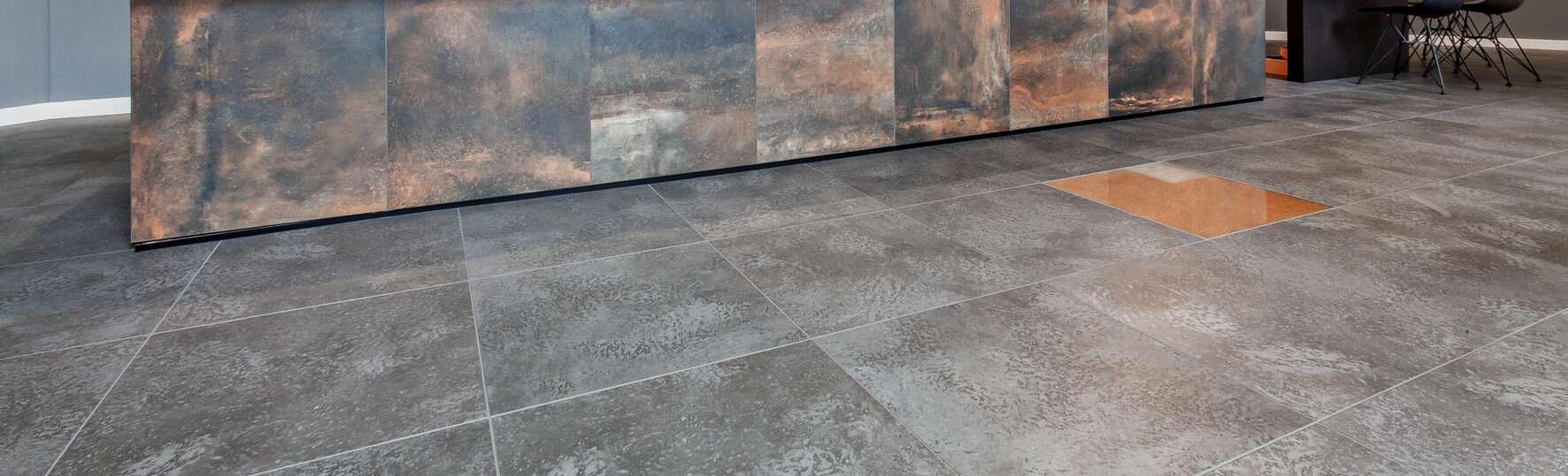 Ausstellung Witterschlick - DryTile Boden 1
